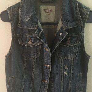 Medium Mossimo Supply Co. Jean Vest